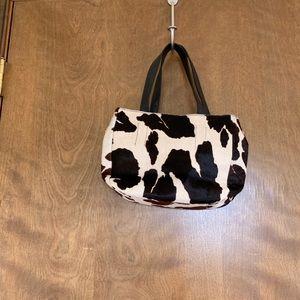 Cow hide bag